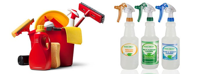 Custom Cleaning Product Labels