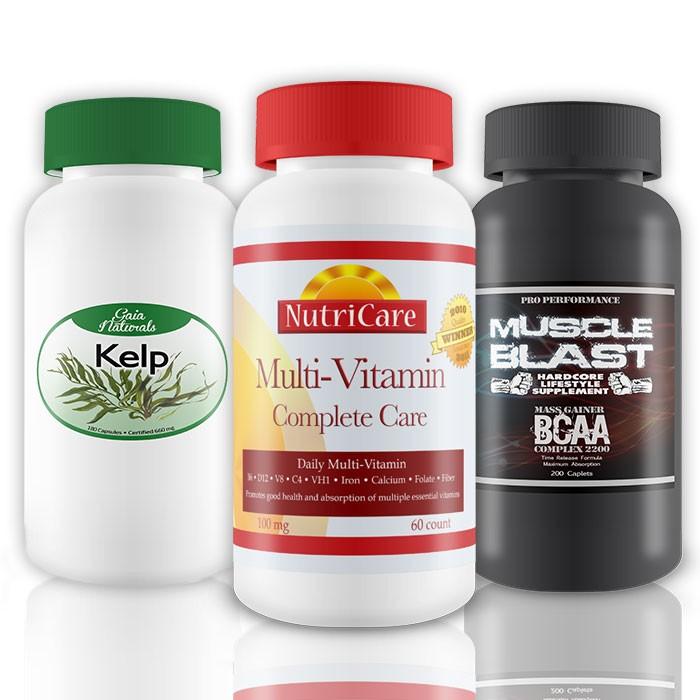 Vitamin Bottle Labels