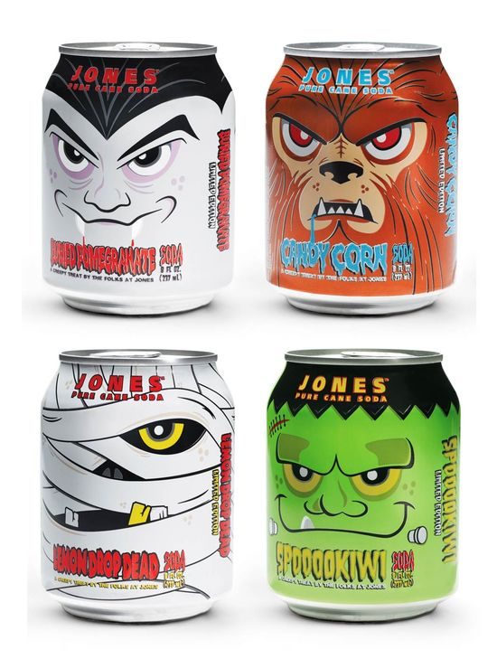 Jones-soda-cans-special-halloween-designs