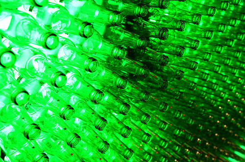 Heineken beer bottles