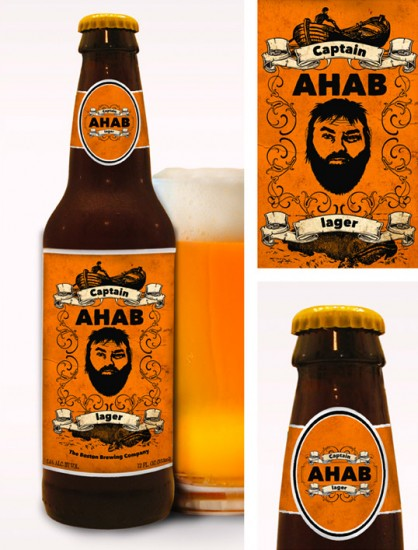 Beer Packaging Design Captain Ahab Influenced by Classic Novel