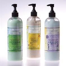 Lotion Bottle Labels from Lightning Labels
