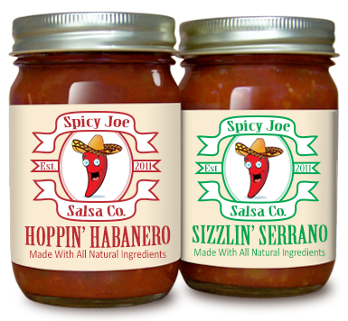 Salsa Labels from Lightning Labels