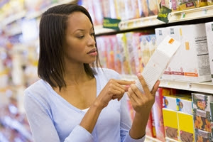 FDA nutrition facts labels