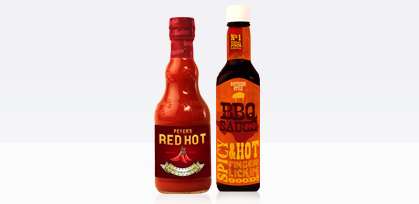 Hot Sauce Labels from Lightning Labels